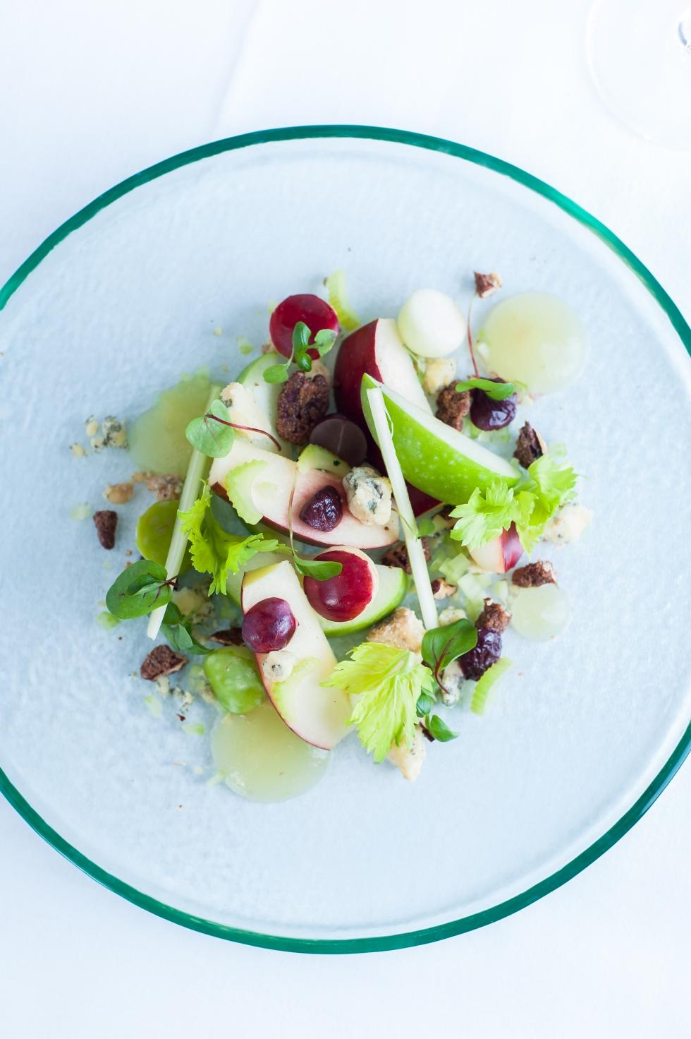 A modern take on the Waldorf Salad